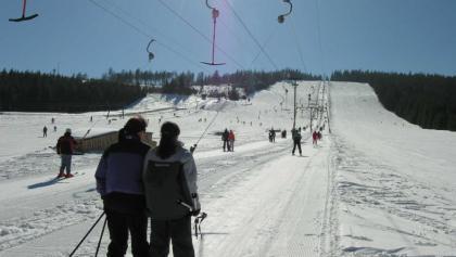 Skifahren am Mehliskopf.