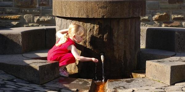 erfrischend und gesund - Wasser aus dem Buhr