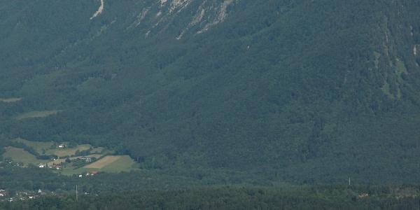 Ausblick auf Staufen und Zwiesel von Vierkaser
