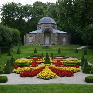 """""""Morgenländischer Bau"""" im Felsengarten Sanspareil"""
