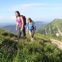 Wanderer am Hochgrat