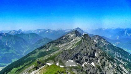 Blick von der Hochschrutte in Tirol