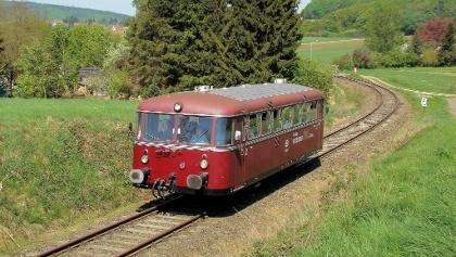 """Schienenbus """"Der Schaumburger"""" Obernkirchen"""