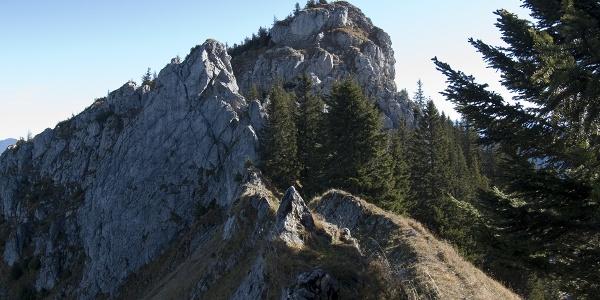 Der Gipfelbereich des Hennenkopfs