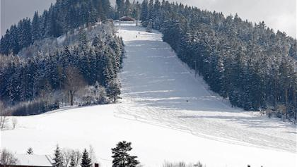 Der Skihang am Stöckerkopf.
