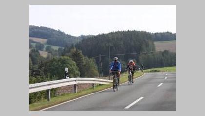 Saaletal bei Kemlas: E-Bike-Fahrer sind hier im Vorteil.