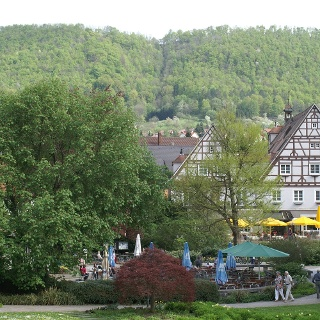 Kurpark in Bad Überkingen.