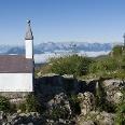 Der Hochgern hat zwei Gipfel.