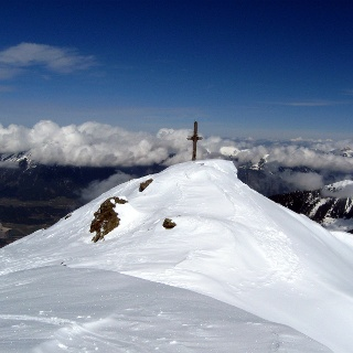 Der Gipfel des Gilfert in Sichtweite