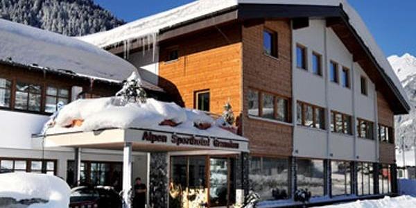 Hotel im Winter