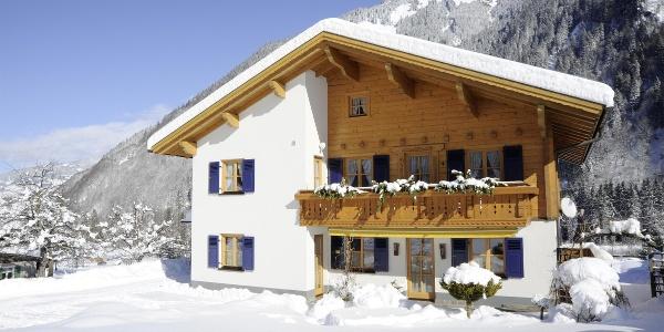 Haus Pacher Winteransicht