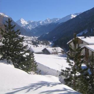 Blick nach Gortipohl Winter