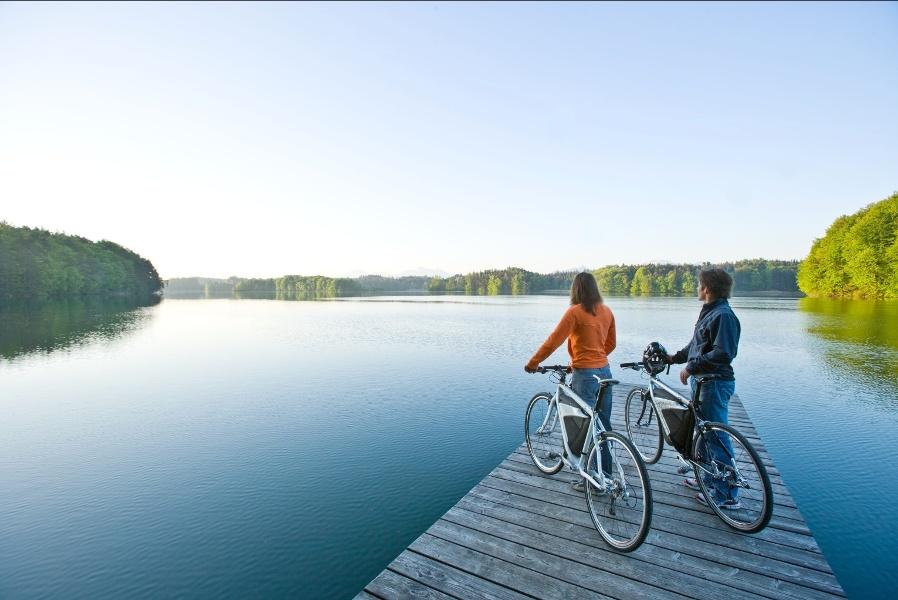 E-Bike Tour durch die Eggstätt-Hemhofer Seenplatte