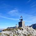 Denkmal am Gleirschtaler Brandjoch