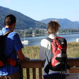Blick auf den Ossiacher See