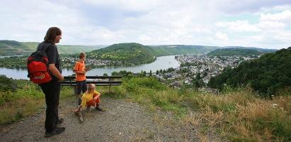 Blick auf Boppard (Foto: Stefan Rees, Quelle: Romantischer Rhein Tourismus GmbH)