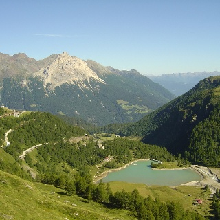 Alp Grüm mit Lago da Palü