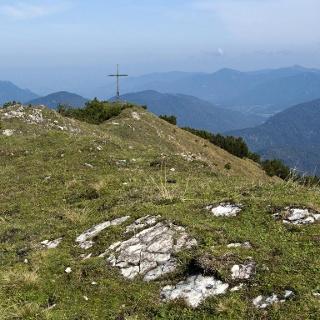 Der wenig spektakuläre Kotzen-Gipfel.