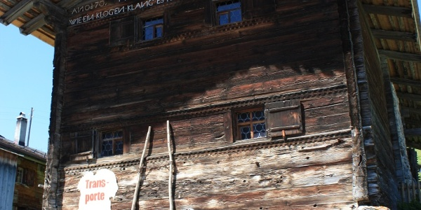 Etappe 4: Heimatmuseum, Camanaboda, Safien