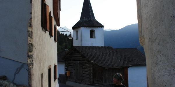 Etappe 7: im Dorf von Reischen