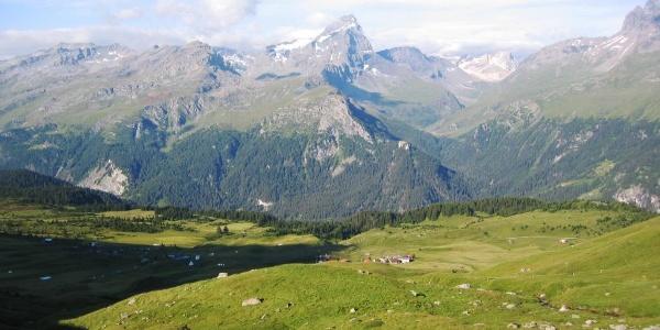 Etappe 10: Alp Flix mit Piz Platta
