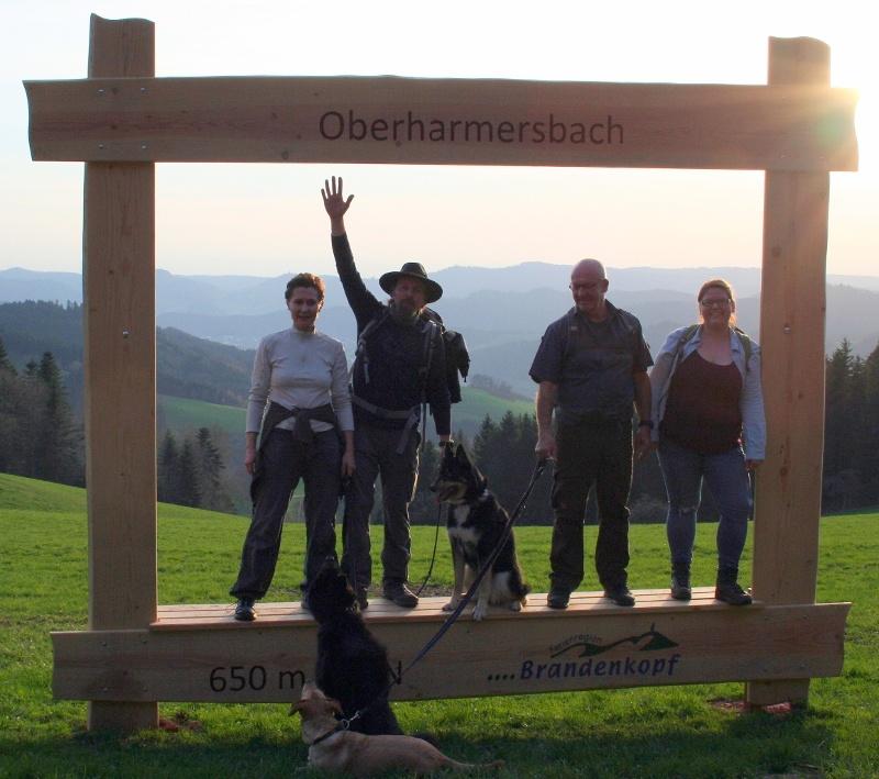 "Aussichtsreiches Oberharmersbach - ""Quartett"""