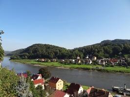 Foto Stadt Wehlen auf der Burg
