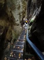 Foto Abstieg vom Hockstein