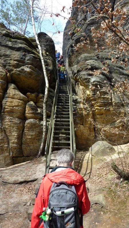 Foto Rauenstein lange Treppe
