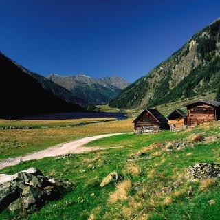 Riesach Lake in the Untertal valley, Rohrmoos
