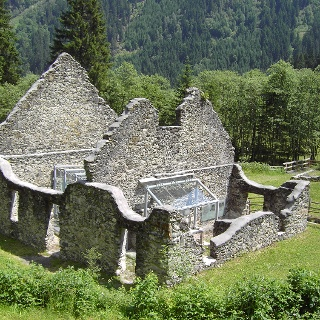Nickel Museum - historic smelting furnace in Obertal valley