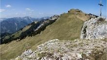 Käserwand und Wildalpjoch, Rundtour über dem Sudelfeld