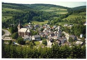 Waldtour, Start und Ziel Winterberg-Züschen