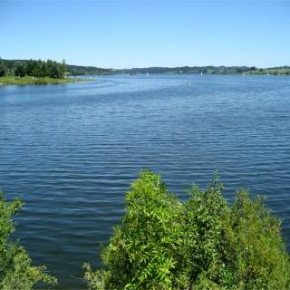 Ausblick auf den Rottachsee