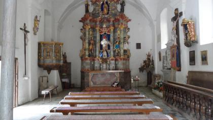 Kirche zum Heiligen Wasser - Innenraum