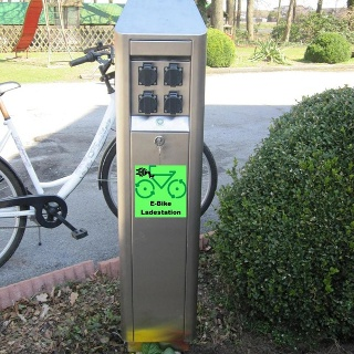 E-Bike-Ladestation Waldhof