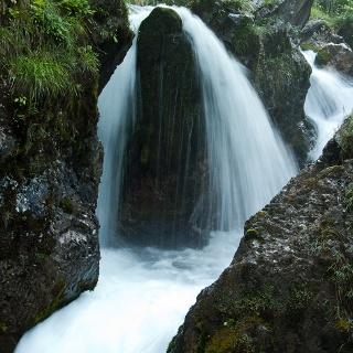 Wasserfall unter der Schwaigeralm