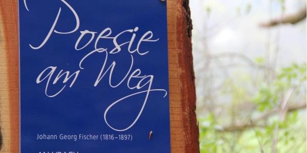 Gedicht von Johann Georg Fischer: An Urach