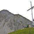 Gipfelkreuz des Kreuzjöchls