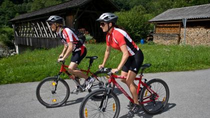 Mit dem Mountainbike entlang der Ill