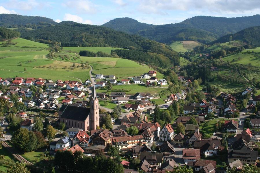 "Aussichtsreiches Oberharmersbach - ""Kurz aber O'ha"""