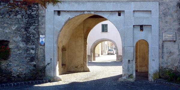 Das Haupttor der Befestigungen von Purbach aus den Jahren 1630-1634