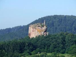Burgruine Fleckenstein/Frankreich (Foto: Jacques Noll, Quelle: Südwestpfalz Touristik e.V.)