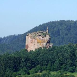 Burgruine Fleckenstein/Frankreich