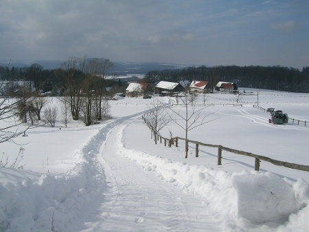Foto Waitzdorf im Winter