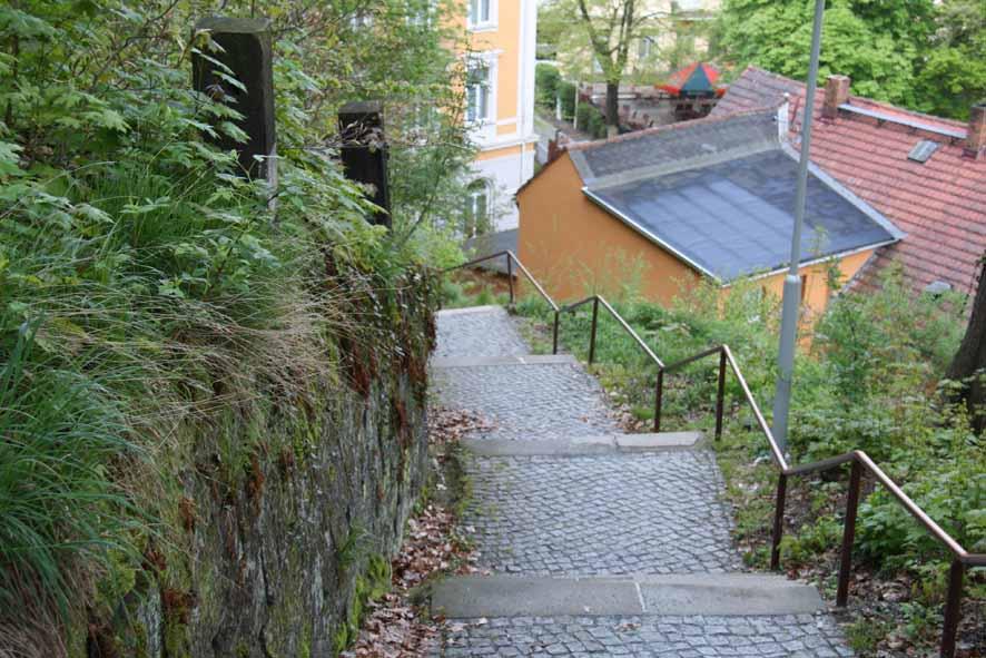 Aufstieg Lutherweg