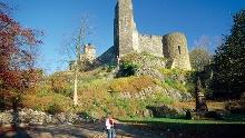Um und auf Stolpen: kleine Wanderung um Stolpen und anschließender Besuch der Burg Stolpen