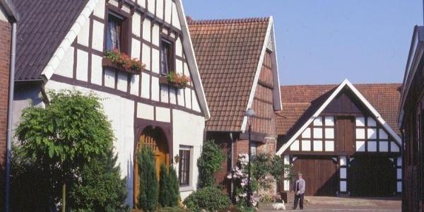 Kleine Hinterstraße in Vörden