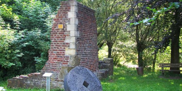 Ruine einer alten Wassermühle