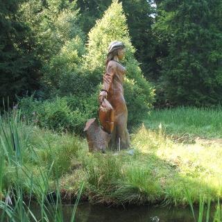 Am Frau-Holle-Teich